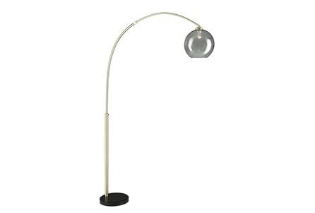 Floor Lamp-Bellina Arc Brass