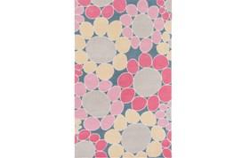 24X36 Rug-Pink Blooms