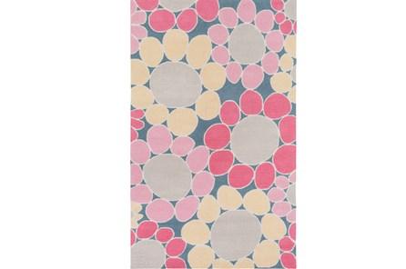 24X36 Rug-Pink Blooms - Main