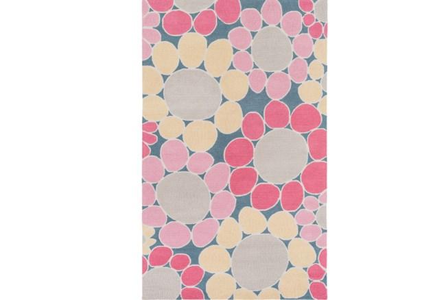 36X60 Rug-Pink Blooms - 360