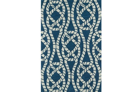 42X66 Rug-Nautical Rope