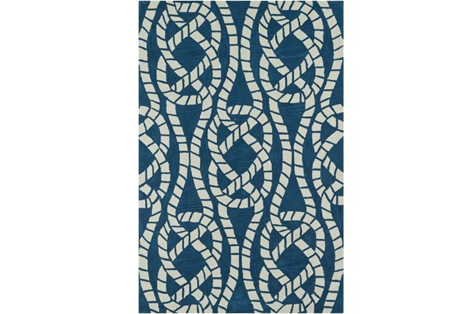 60X90 Rug-Nautical Rope - 360