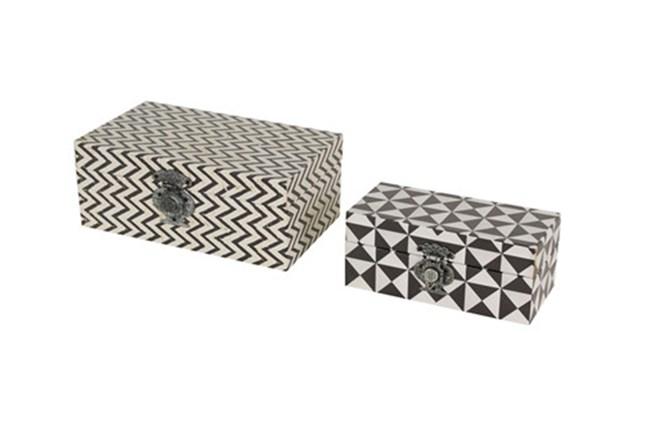Geo Print Nesting Boxes - 360