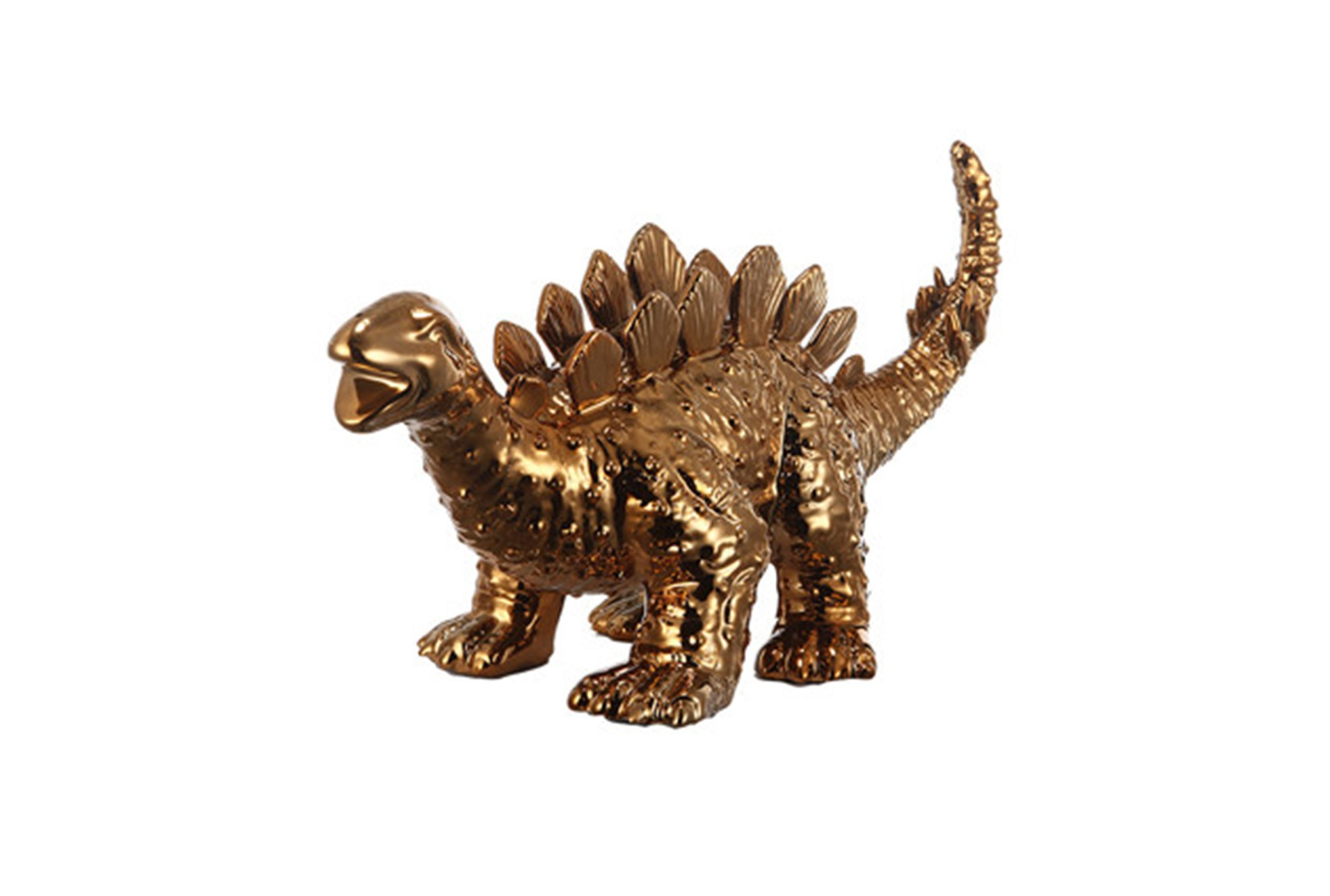 Gold Dinosaur Planter
