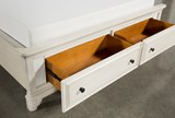 Kincaid Queen Panel Bed W/Storage - Top