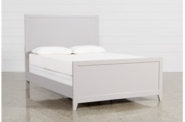 Bayside Grey California King Panel Bed