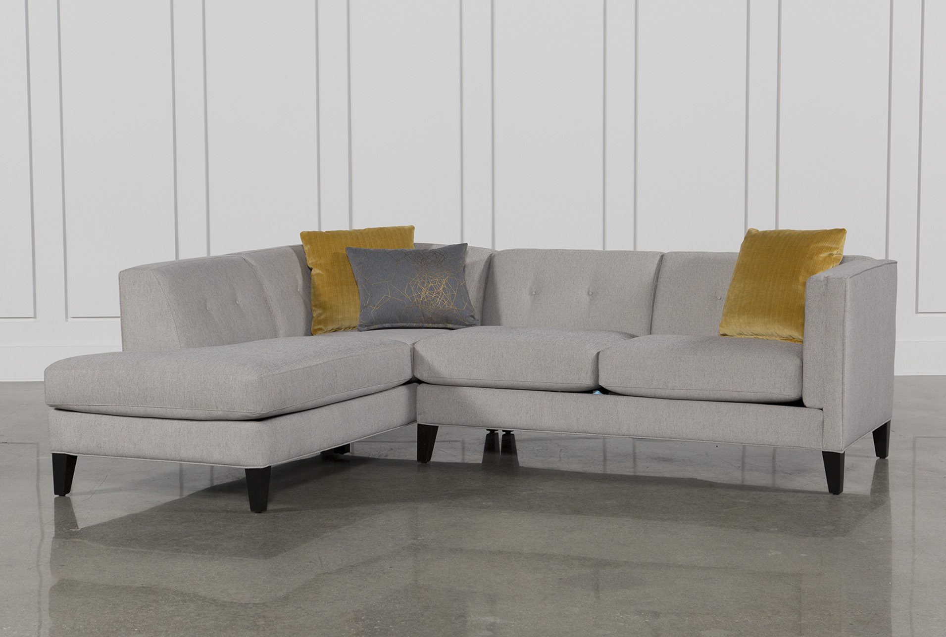 Small Sectional Sofas Living Spaces