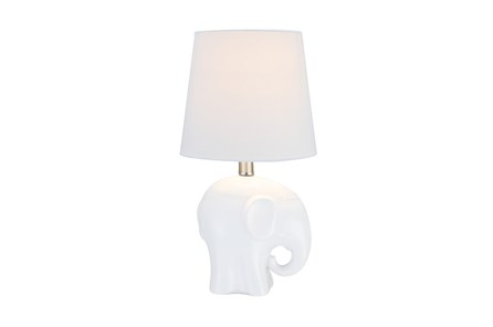 Youth Table Lamp-White Elephant