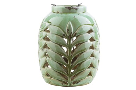 Outdoor Fern Lantern Medium - Main