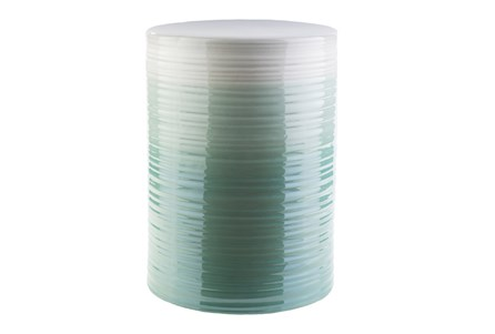 Teal Ombre Stool - Main