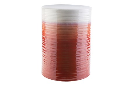 Red Ombre Stool - Main