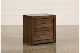 Riley Brownstone 2-Drawer Nightstand