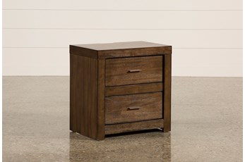 "Riley Brownstone 2-Drawer 25"" Nightstand"