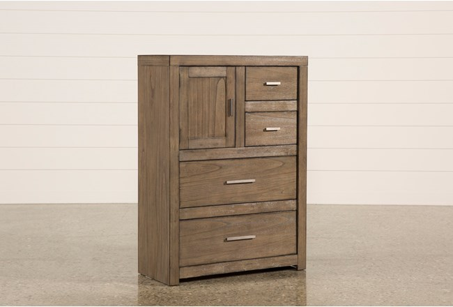 Riley Greystone Chest Of Drawers - 360