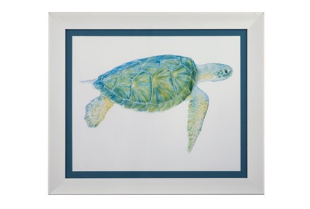 Picture-Blue Sea Turtle I
