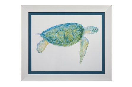 Picture-Blue Sea Turtle I - Main