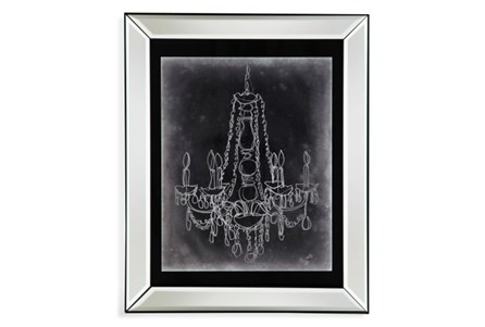 Picture-Mirror Framed Chandelier Sketch I