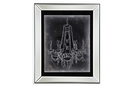 Picture-Mirror Framed Chandelier Sketch I - Main