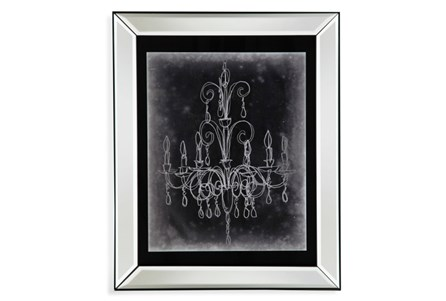 Picture-Mirror Framed Chandelier Sketch II