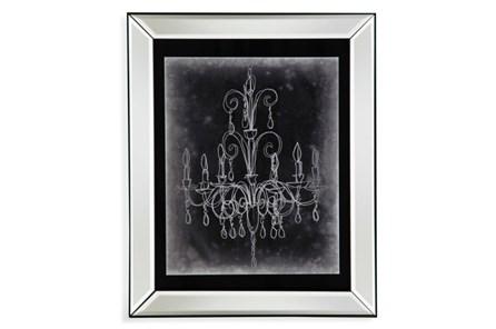 Picture-Mirror Framed Chandelier Sketch Ii - Main
