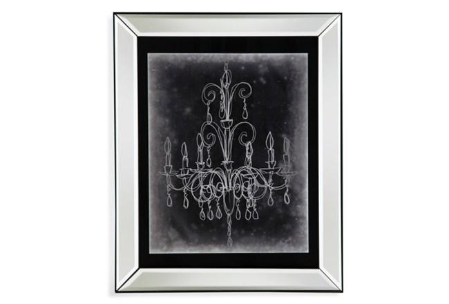 Picture Mirror Framed Chandelier Sketch Ii 360