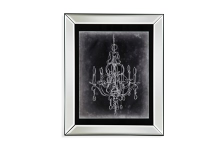 Picture-Mirror Framed Chandelier Sketch IV - Main