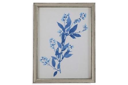Picture-Pressed Leaf Blue I - Main