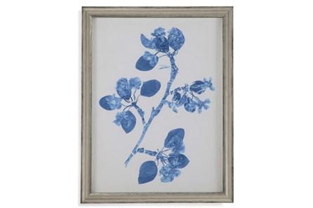 Picture-Pressed Leaf Blue Ii - Main