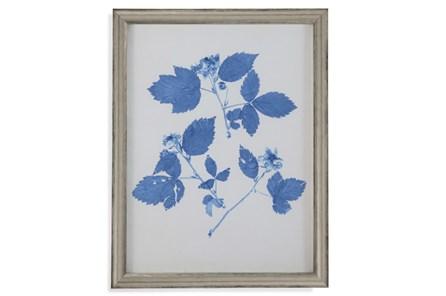 Picture-Pressed Leaf Blue Iv - Main