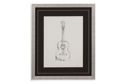 Picture-Guitar Drawing - Main