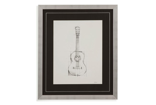 Picture-Guitar Drawing - 360