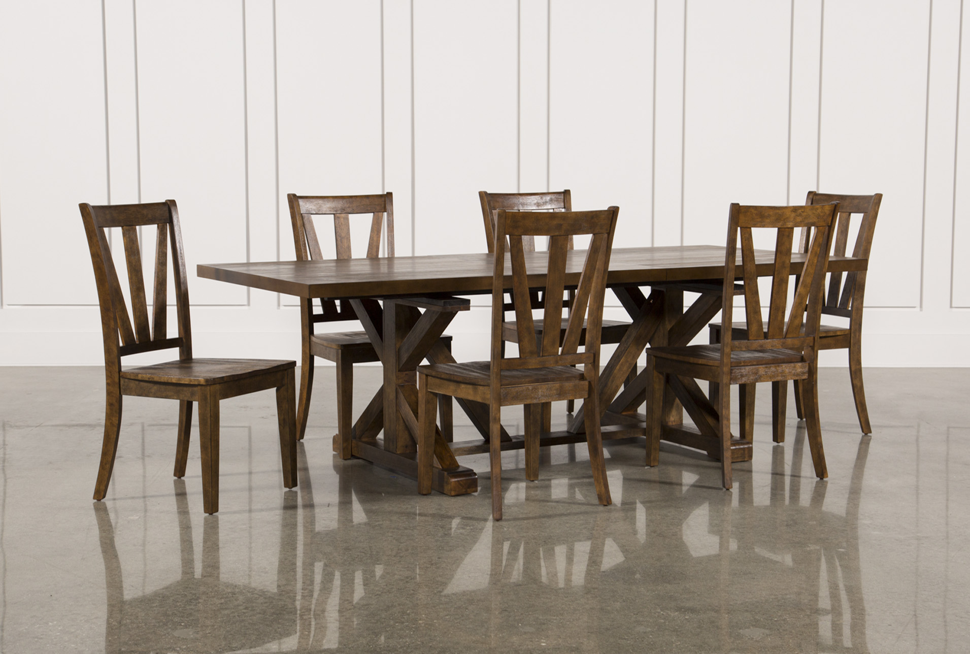Added To Cart. Chandler 7 Piece Extension Dining Set ...