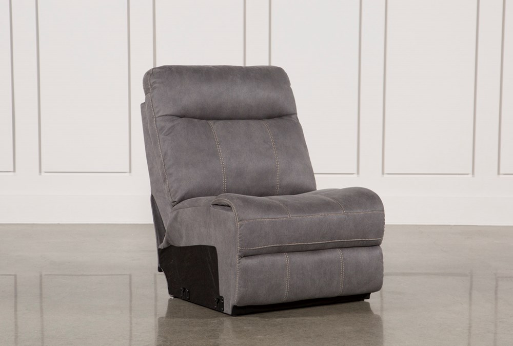 Denali Light Grey Armless Chair