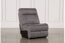 Denali Light Grey Armless Chair
