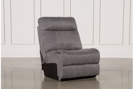 Denali Light Grey Armless Chair - Main