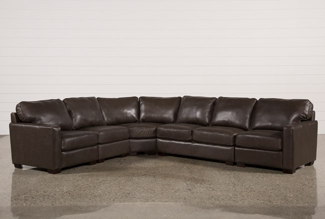 Redford Coffee 5 Piece Sectional - 360