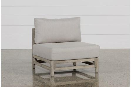 Outdoor PompeII Armless Chair - Main