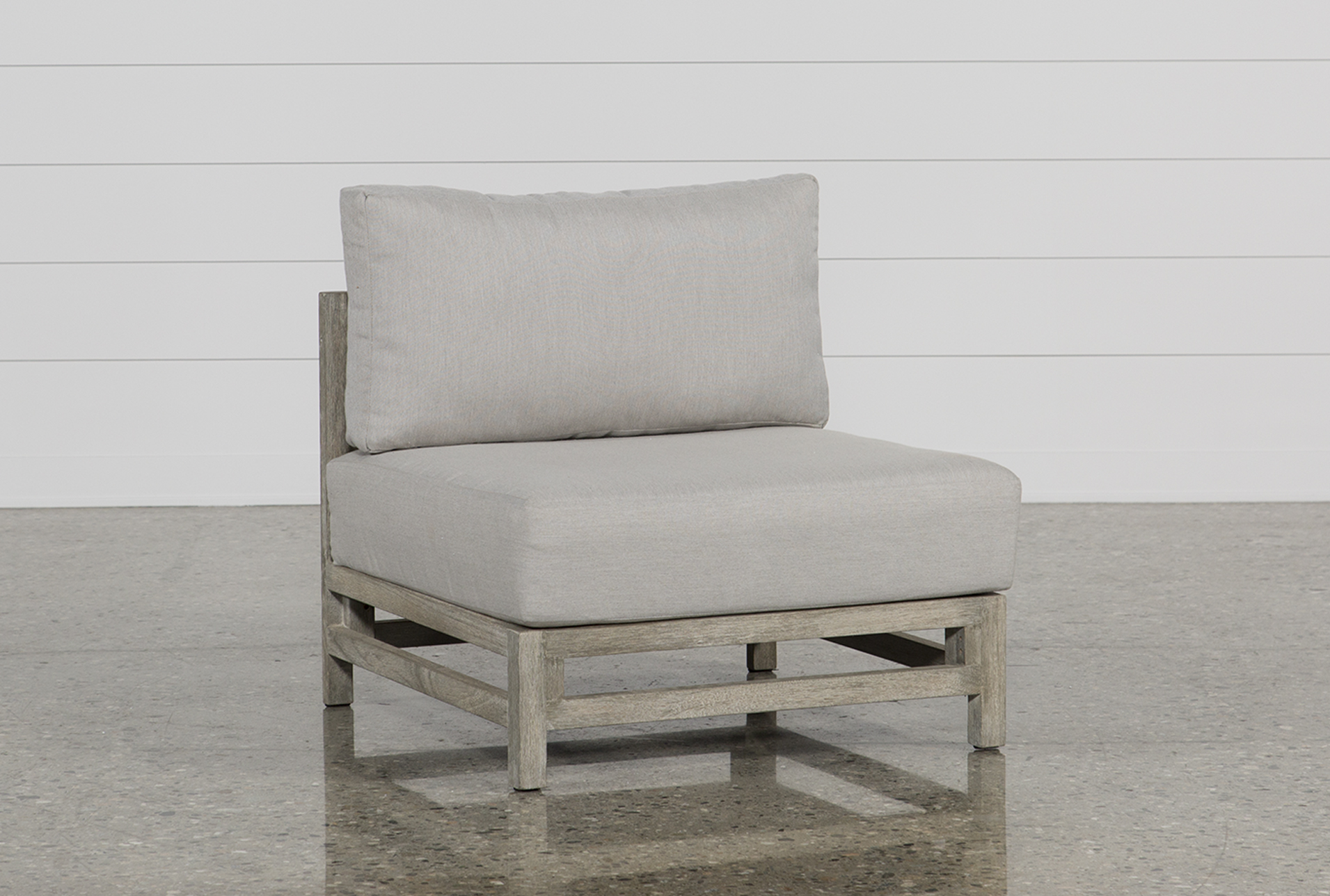 Gentil Outdoor PompeII Armless Chair   360