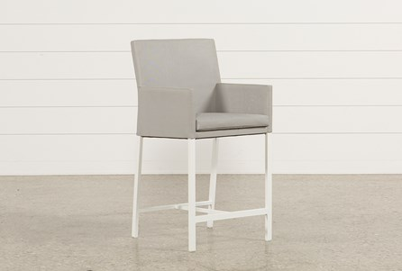 Outdoor Biscayne Upholstered High Dining Chair