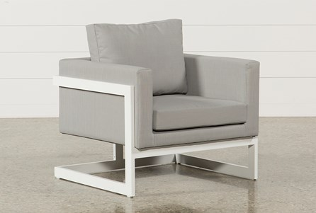 Outdoor Biscayne Upholstered Lounge Chair