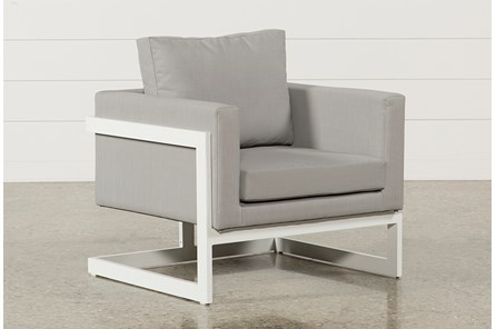 Outdoor Biscayne Upholstered Lounge Chair - Main