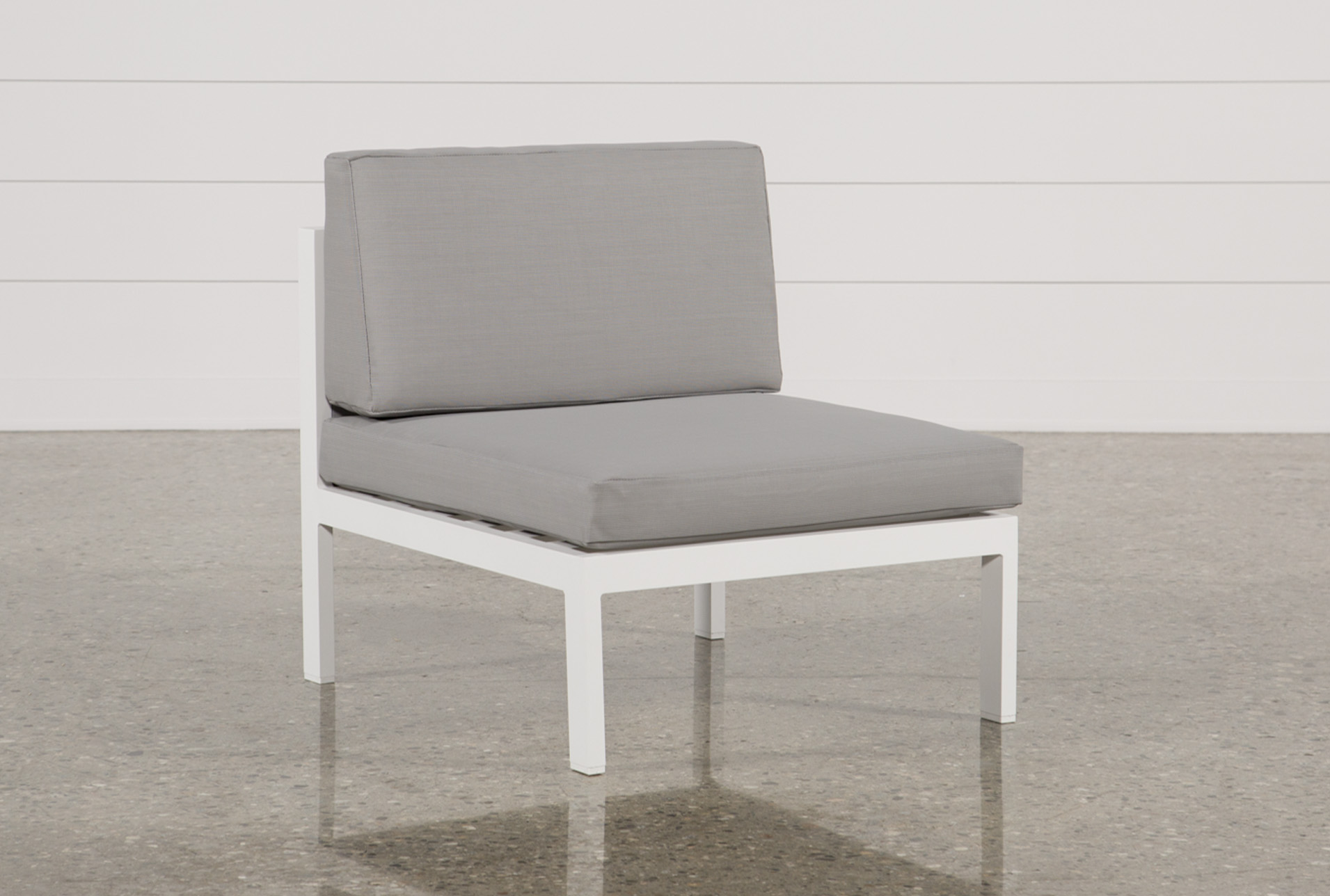 Beau Outdoor Biscayne Armless Chair   360