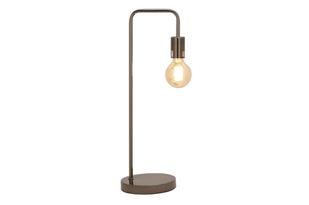Desk Lamp-Black Exposed Bulb - Main