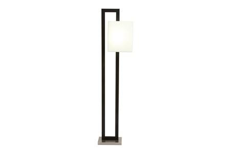 Floor Lamp-Offset Shade