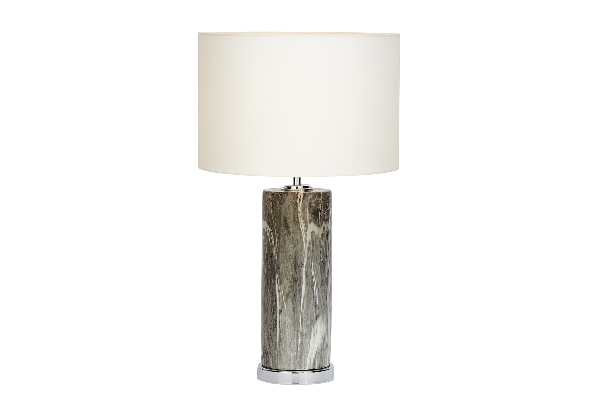 Table Lamp Grey Marble