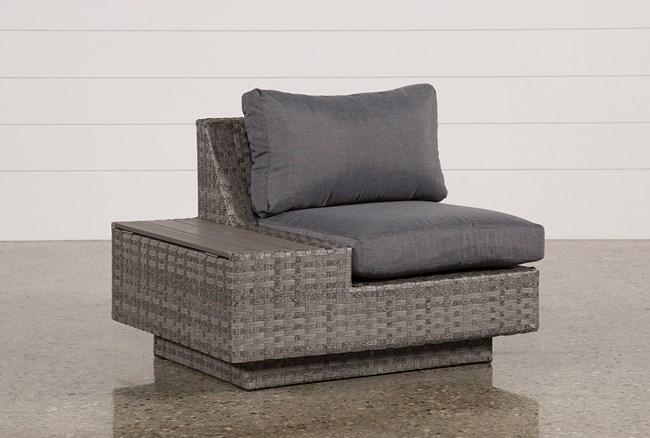 Outdoor Varadero Left Facing Chair W/Storage - 360