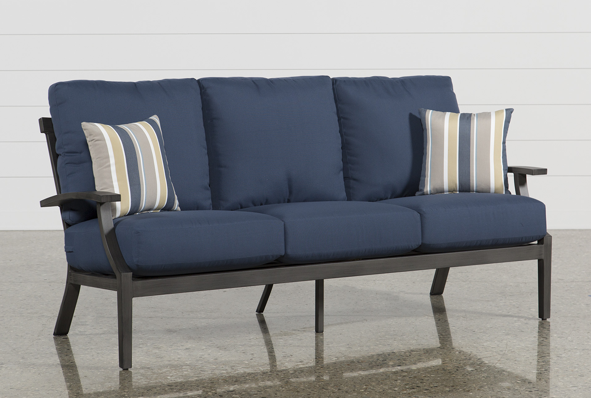 Outdoor Martinique Navy Sofa (Qty: 1) Has Been Successfully Added To Your  Cart.