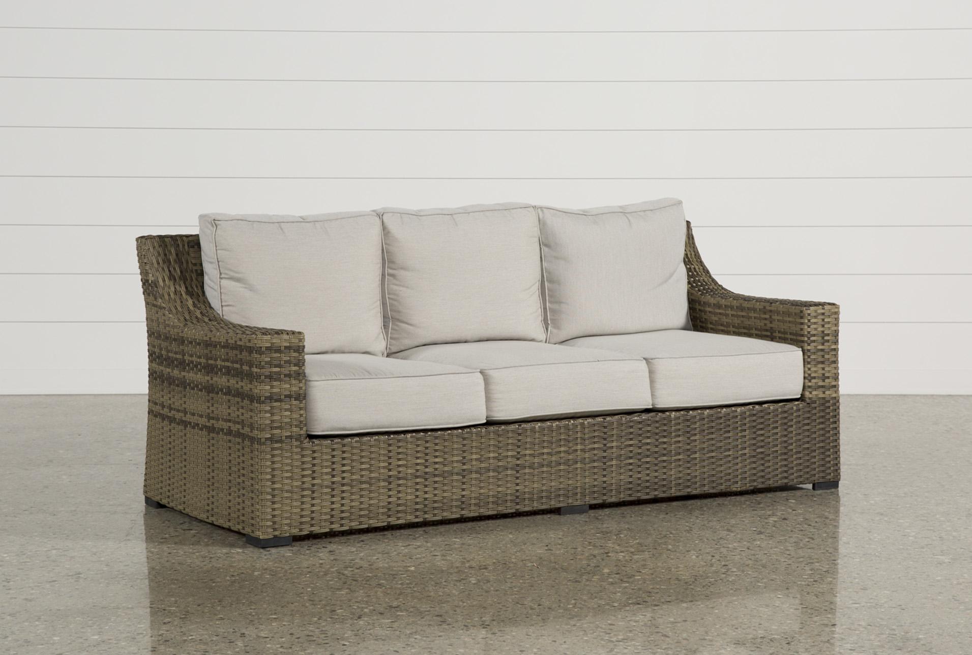 outdoor aventura sofa living spaces rh livingspaces com outdoor furniture sofa bed outdoor furniture sofa sale