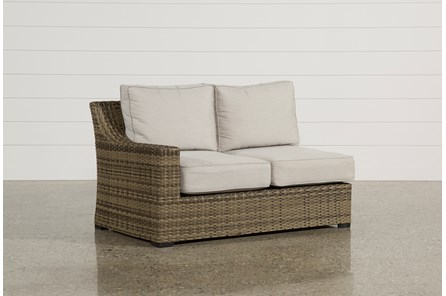 Outdoor Aventura Left Facing Loveseat - Main