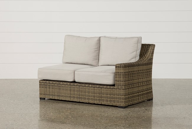 Outdoor Aventura Right Facing Loveseat - 360